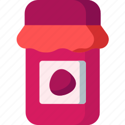 breakfast, cooking, eat, food, jam, kitchen, meal icon