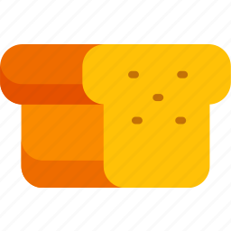 bread, breakfast, cooking, food, kitchen, meal, toast icon