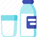 beverage, breakfast, dairy, drink, food, meal, milk icon