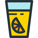 beverage, breakfast, drink, glass, juice, orange icon