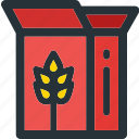 bakery, breakfast, cereals, cooking, food, meal, wheat icon