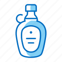 bottle, breakfast, maple, syrup icon