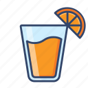 beverage, fruit, juice, orange, summer