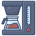 coffee, drip, machine, maker icon