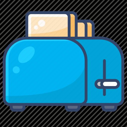 Bread, kitchen, toast, toaster icon - Download on Iconfinder