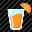 beverage, fruit, juice, orange, summer