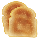 bread, food, toast icon