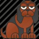 animal, bloodhound, breed, dog, hound icon