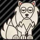 cute, dog, friendly, puppy, samoyed icon
