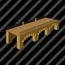 architecture, bridge, construction, crossing, span, structure