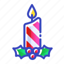 candle, christmas, xmas icon