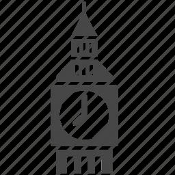 big ben, british, clock, england, london, tower, uk icon