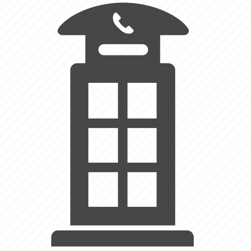 british, callbox, london, phone, phone booth, public, telephone icon