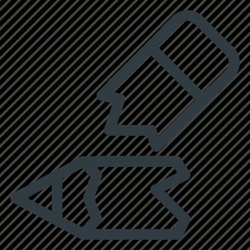 broken, pencil icon