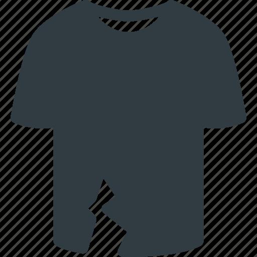 ripped, tshirt icon