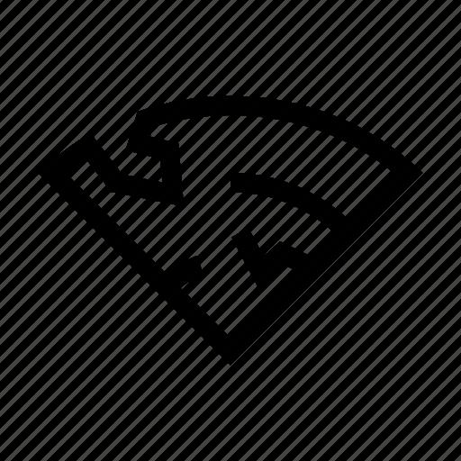 broken, connection, error, fail, signal, wifi, wireless icon