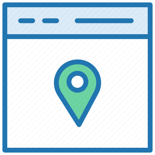 gps, location marker, location pin, map, place, route map icon