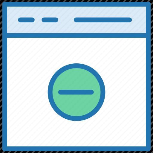 delete webpage, delete website, remove bookmark, remove webpage icon