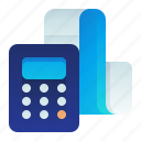 calculation, calculator, cashier, checkout, payment icon