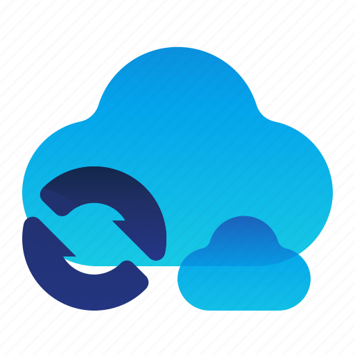 Arrows, cloud, storage, sync, syncronize icon - Download on Iconfinder