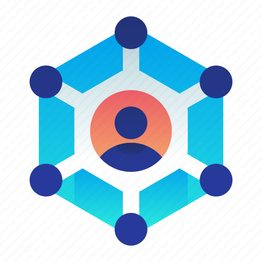 account, communication, community, network, user icon