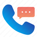 call, communication, customer, service, support icon