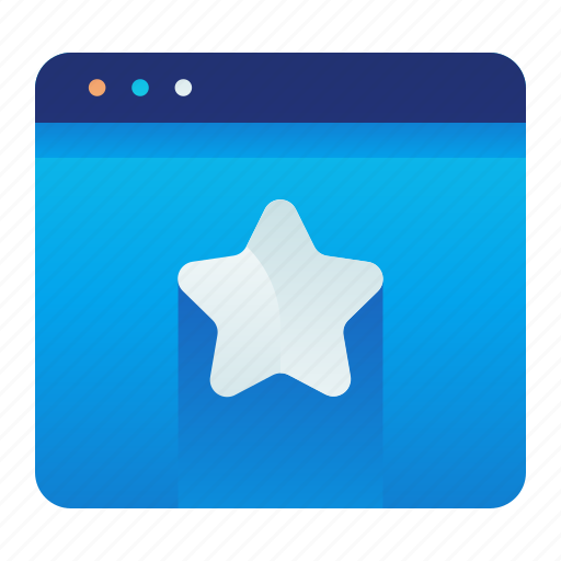 Browser, favorite, favourite, web, website icon - Download on Iconfinder