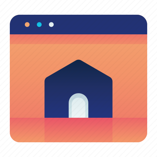 Browser, home, homepage, web, website icon - Download on Iconfinder