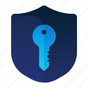 key, lock, protection, security, shield