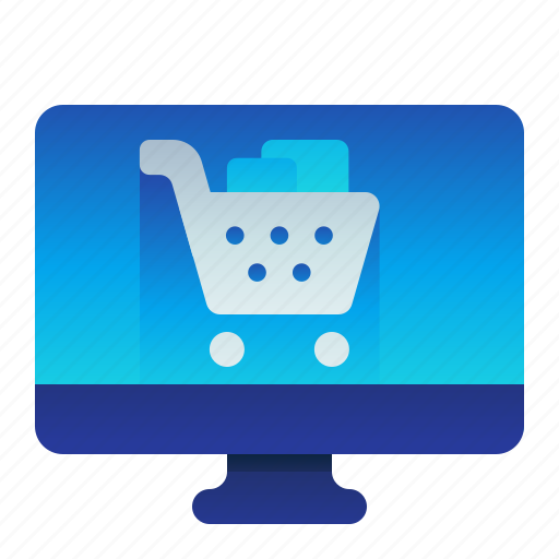 desktop, ecommerce, online, shop, shopping icon