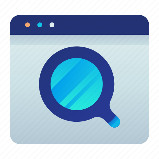 browser, find, search, web, website icon