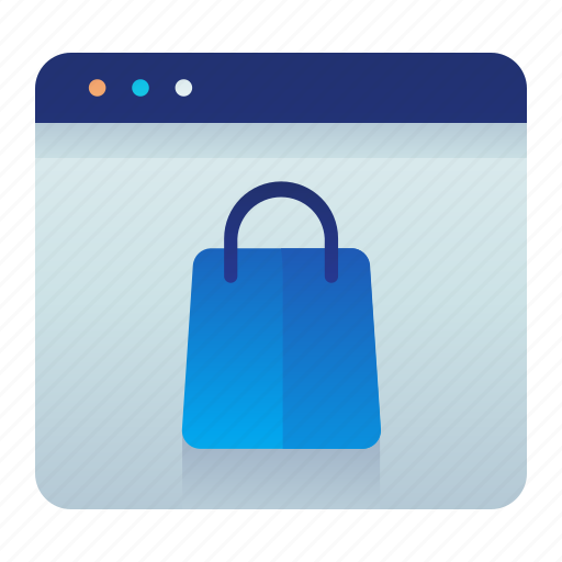 browser, online, shopping, web, website icon