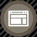 browser, internet, layout, online, website