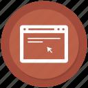 browser, click, online, seo, website