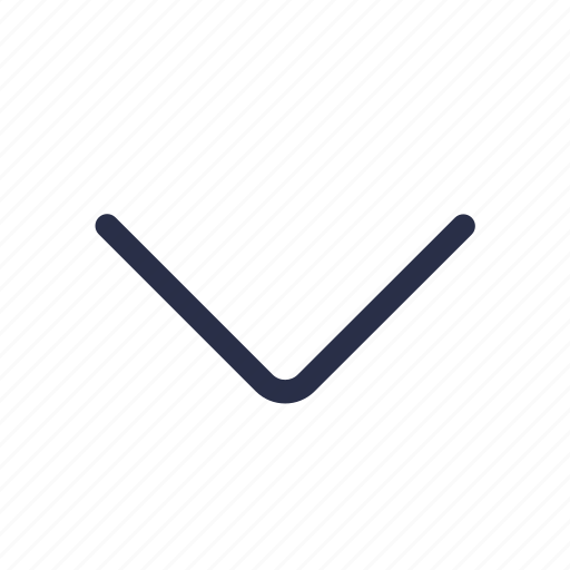 arrow, bottom, direction, down, navigation icon