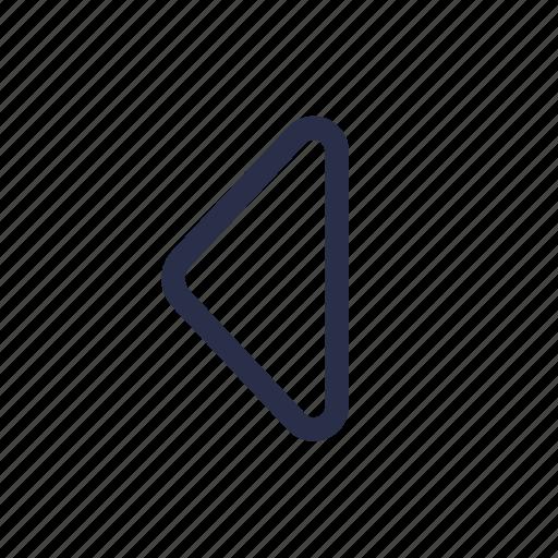 arrow, back, direction, left, navigation, return icon