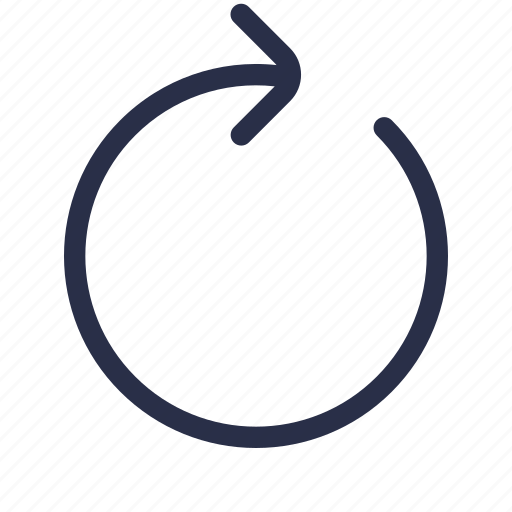 loop, redo, refresh, reload, replay, restart, update icon