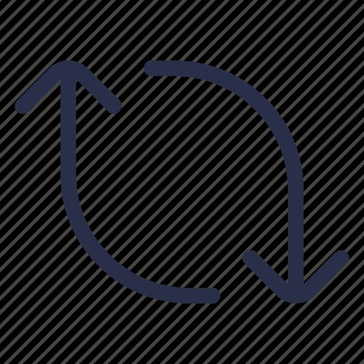 cycle, repost, retweet, sync icon
