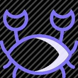 animal, crab, sea, seafood icon