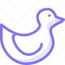 animal, animals, duck, water animal icon