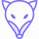 animal, animals, fox, nature icon