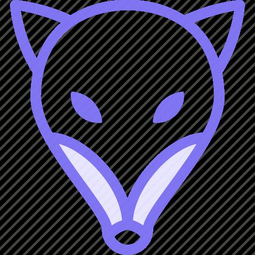 animal, animals, fox, nature icon