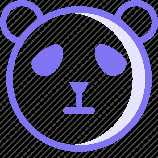 animal, animals, panda, zoo icon