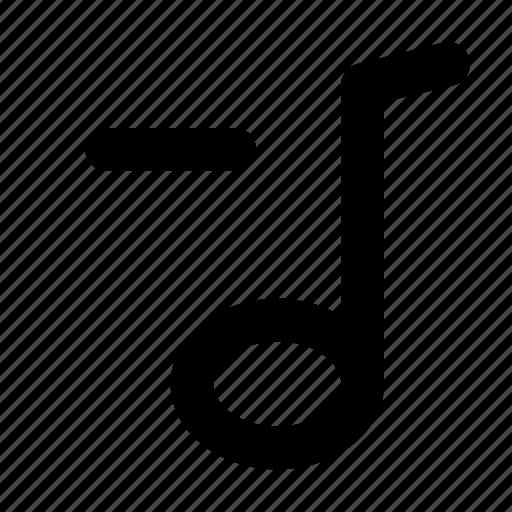 melody, minus icon