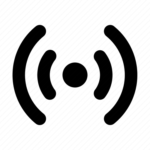 Podcast, radio, radio station, signal, station, broadcast, signaling icon - Download on Iconfinder