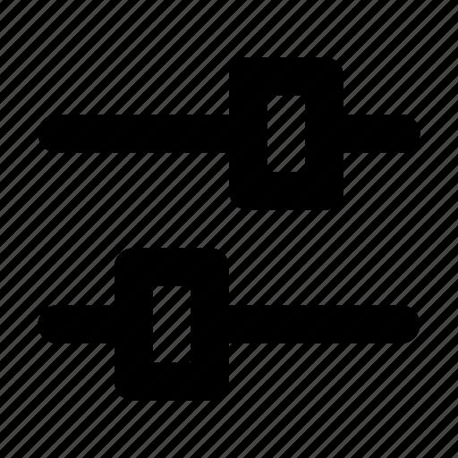 filter, ui icon