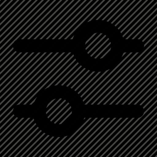 adjust, filter, setting, ui icon