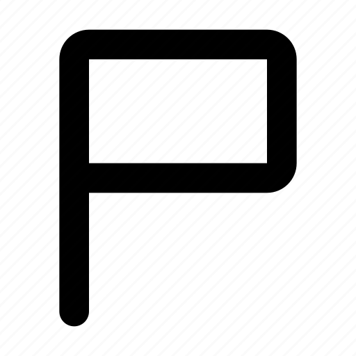 flag, mark, report icon