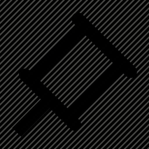 pin, pinning icon