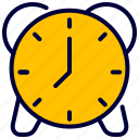 alarm, bell, clock, education, school, time icon